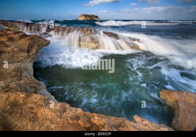 Georgios Island, Cyprus - Paphos. - Stock Image