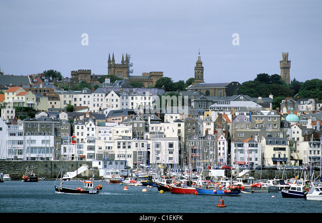 Guernsey United Kingdom  city pictures gallery : Guernsey St Peter Port Stock Photos & Guernsey St Peter Port Stock ...