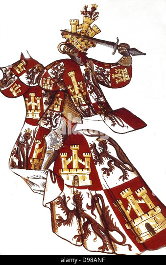 Spanish 15th Century Knight - Stock Image