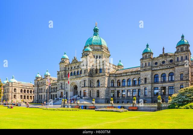 Victoria, British Columbia. - Stock Image