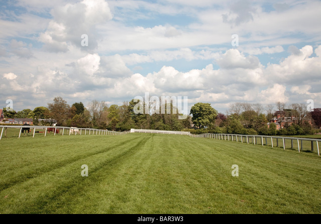 Race course Beverley Westwood, Beverley, East Yorkshire, England, UK - Stock Image