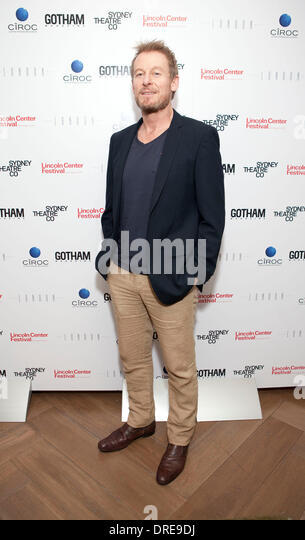 Richard Roxburgh Gotham Magazine celebrates it's summer issue with cover star Cate Blanchett held at The London - Stock Image