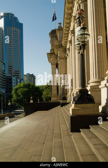 House of Parliament / Melbourne  - Stock Image