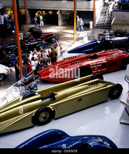 Racing Cars Beaulieu Motor Museum Stock Photos & Racing