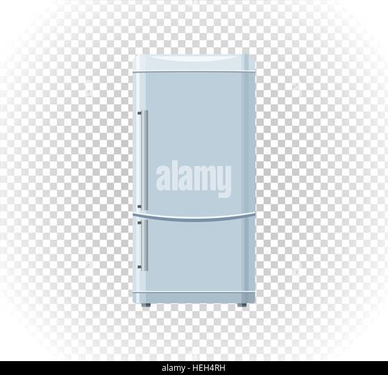 Sale of household appliances freezer. Electronic device refrigerator. Sale badge label refrigerator logo. Home appliances - Stock-Bilder