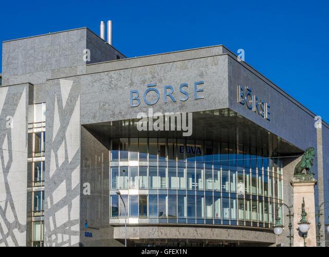 Stockmarket in Zurich, Switzerland, Europe - Stock Image
