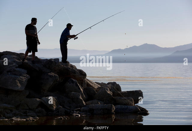 Drought usa water stock photos drought usa water stock for Salton sea fishing