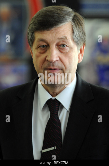 Senior reshuffle at Russian Olympic Committee - Stock Image