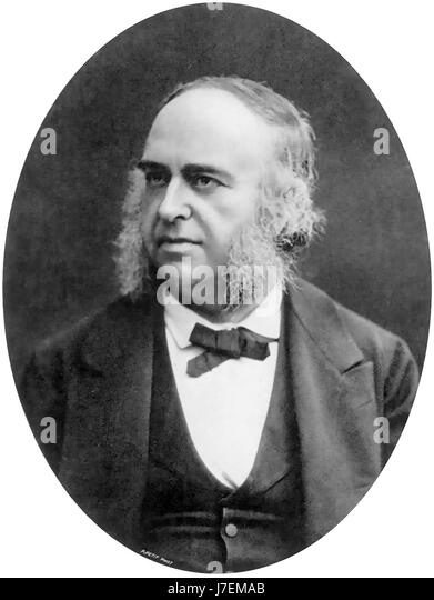 PAUL BROCA (1824-1880) French physician and anthropologist - Stock-Bilder