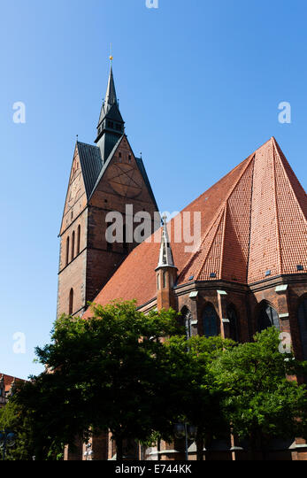 Marktkirche Hannover, Germany - Stock Image