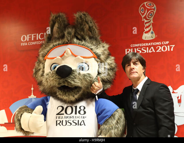 Kazan, Russia. 26th Nov, 2016. Germany coach Joachim Loew arrives for the group draw of the Confederations Cup 2017 - Stock Image