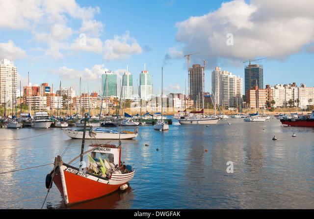 Marina, Montevideo - Stock Image