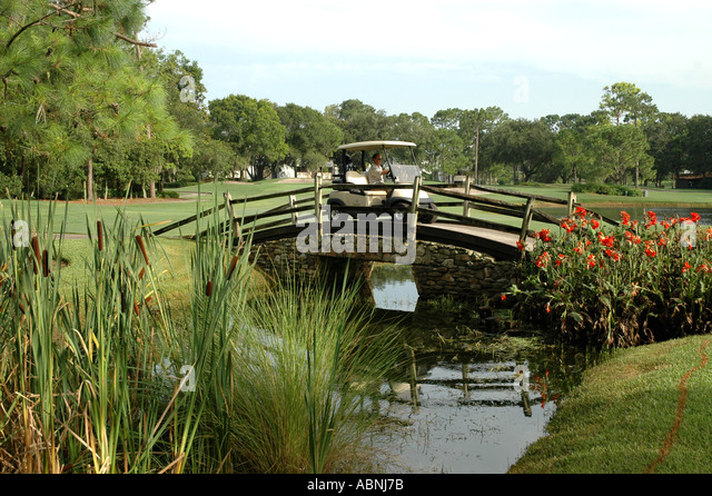 Tarpon Springs Florida Westin Innisbrook Resort Copperhead Golf Course - Stock Image