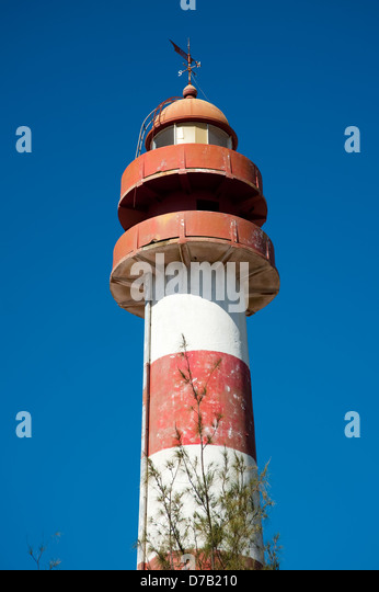 Lighthouse, Beira, Mozambique - Stock Image