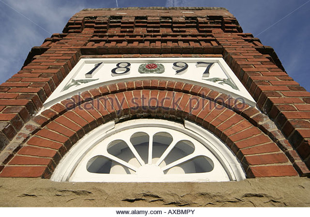 West Virginia Lewisburg Old Lewisburg Bank Elks Building built 1897 - Stock Image