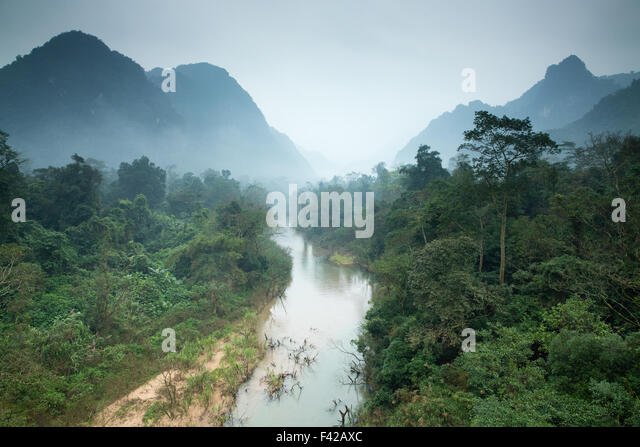 Phong Nha-K? Bàng is a national park and UNESCO World Heritage Site , Qu?ng Bình Province, Vietnam - Stock-Bilder