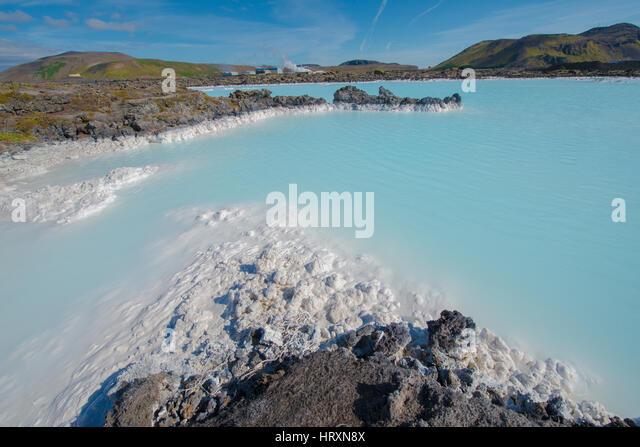 Blue Lagoon 921 - Stock Image
