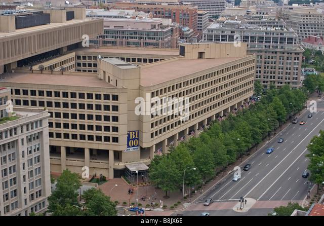 FBI Headquarters, Washington, D.C. - Stock Image