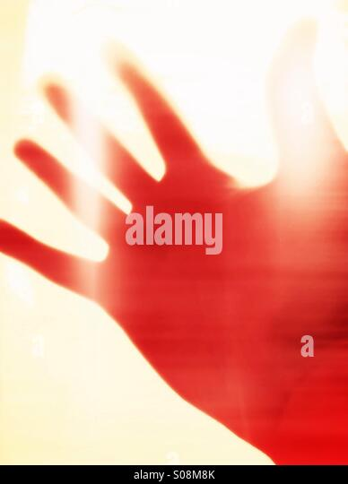 Hand, abstract - Stock-Bilder