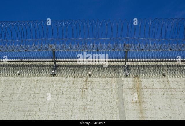 Former prison Neuengamme - Stock Image