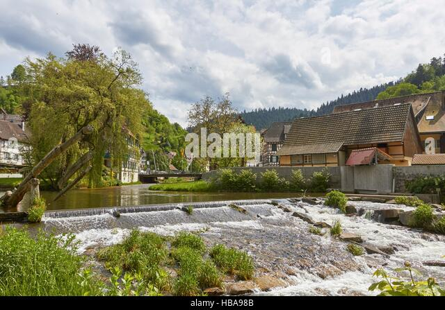 Black Forest: Schiltach, Germany - Stock-Bilder