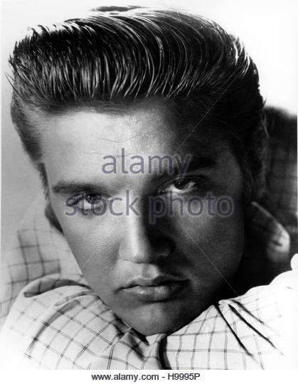 Elvis Presley circa 1955 - Stock Image
