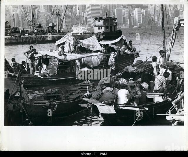 Aug. 08, 1979 - Coping with Disaster: Refugees and Displaced Persons in South-East Asia: The humanitarian commitment - Stock-Bilder