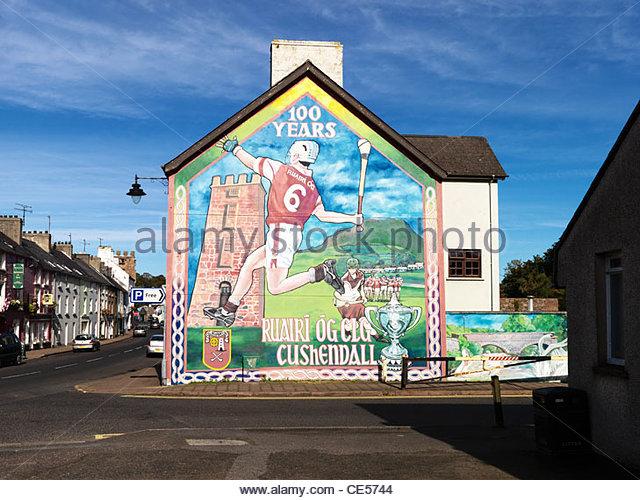 Cushendall stock photos cushendall stock images alamy for Mural ireland