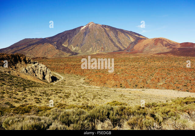 Pico del Teide, Parque Nacional del Teide, UNESCO World Heritage Site, Tenerife, Canary Islands, Spain, Europe - Stock-Bilder