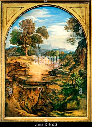 Wilderness 1831 FERDINAND OLIVIER (1785-1841) German Germany - Stock Image