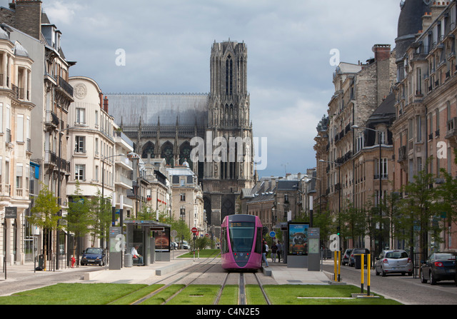 train tramway modern buildings stock photos train tramway modern buildings stock images alamy. Black Bedroom Furniture Sets. Home Design Ideas