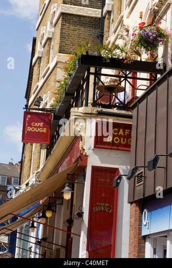 Cafe Rouge High Street Kensington