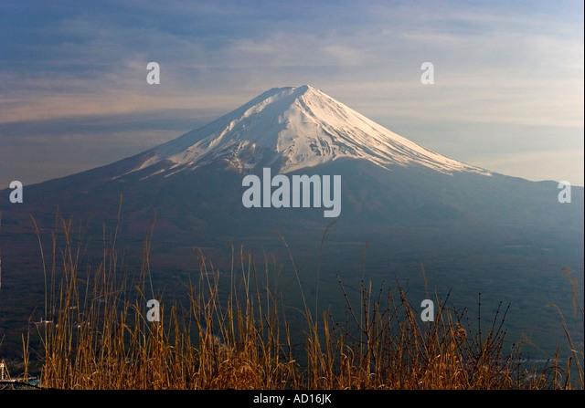Mt Fuji, Kansai, Japan - Stock Image