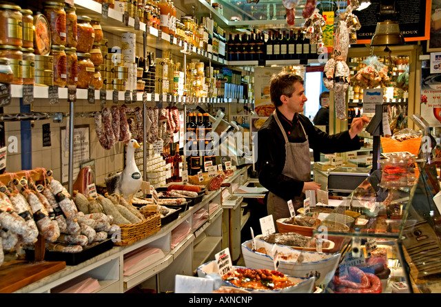 france butcher store stock photos france butcher store stock images alamy. Black Bedroom Furniture Sets. Home Design Ideas