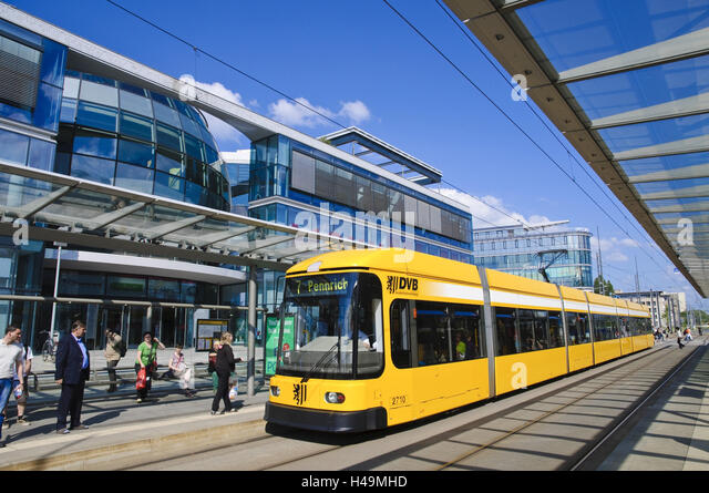 tram stop germany stock photos tram stop germany stock images alamy. Black Bedroom Furniture Sets. Home Design Ideas