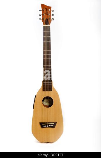 Ozark travel guitar - Stock-Bilder
