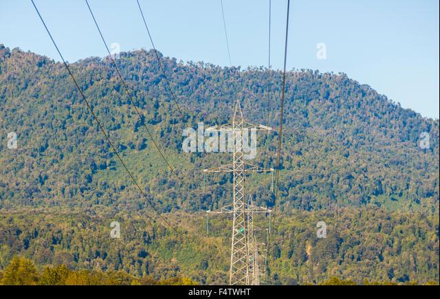 Corriente stock photos corriente stock images alamy - Cables de electricidad ...