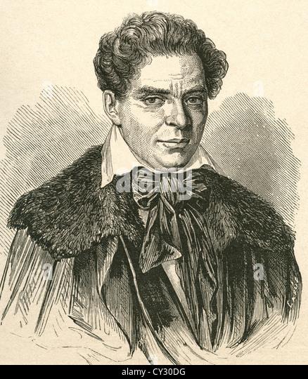Carlos Latorre, 1799 - 1851. Spanish actor. - Stock-Bilder