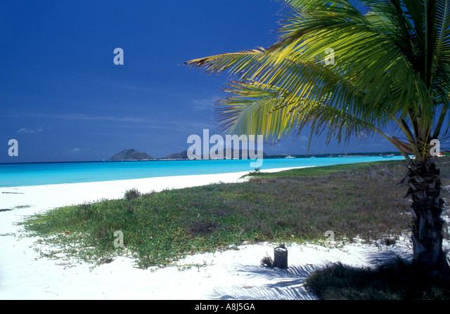 Los Roques Archipelago National Park Venezuela Francisquí Cay cayo - Stock Image