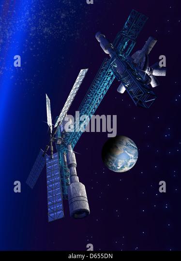 futuristic donut space station - photo #42