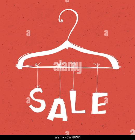 Sale concept illustration. - Stock Image