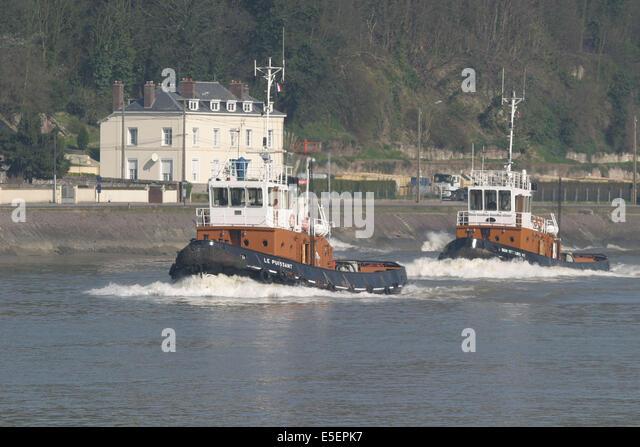 Remorquage stock photos remorquage stock images alamy - Grand port maritime de rouen ...