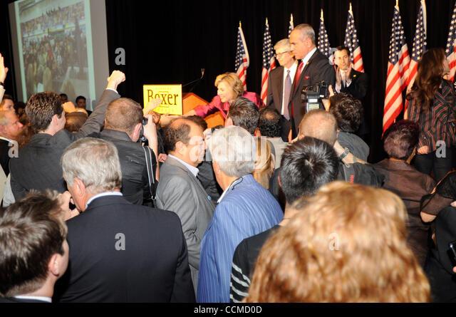 Nov 02, 2010 - Los Angeles, California, U.S. - Former California State Senator DIANNE FEINSTEIN (D-California), - Stock Image