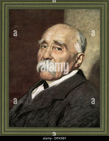 G CLEMENCEAU - Stock Image