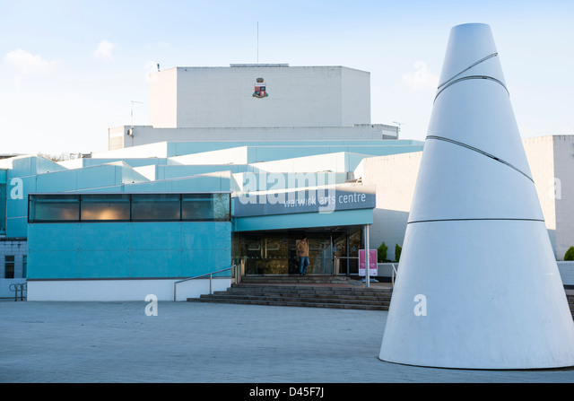 Warwick Arts Centre, at Warwick University - Stock Image