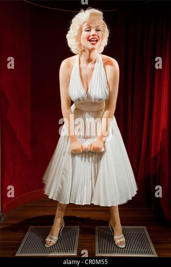 France, Paris, Musee Grevin, Marilyn Monroe - Stock Image