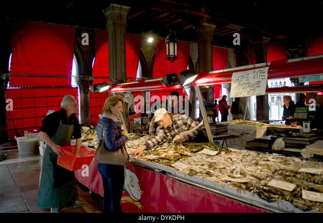 Seafood Restaurant Near Rialto Bridge