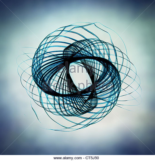 abstract spiral - Stock Image