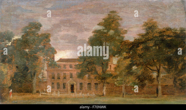 John Constable - West Lodge, East Bergholt - Stock Image