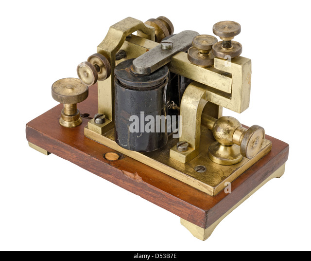 pictures of morse code machine